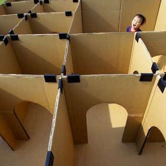 17 Facons Astucieuses De Reutiliser Les Boites En Carton