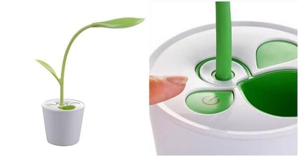 Une lampe de bureau pas cher en forme de plante