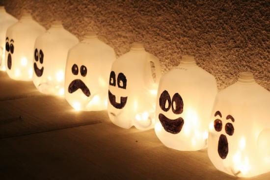 des lampes esprit pour halloween
