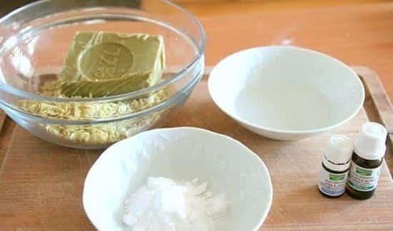 recette liquide vaisselle avec restes savons