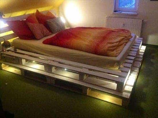 20 Idées Géniales De Lits En Palettes Faits Maison