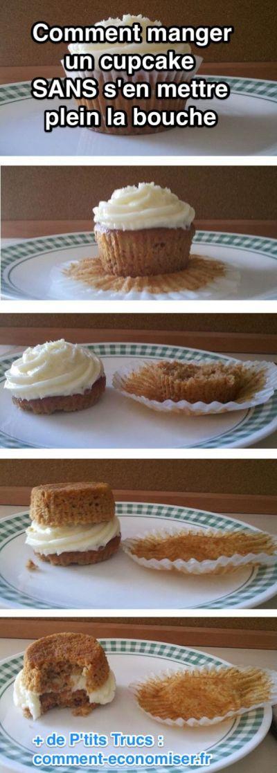 Comment manger un cupcake proprement