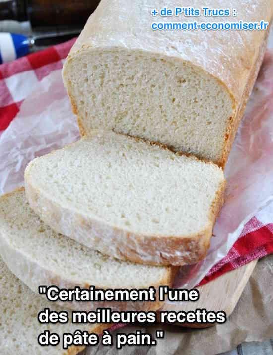 La meilleure recette de pâte à pain maison