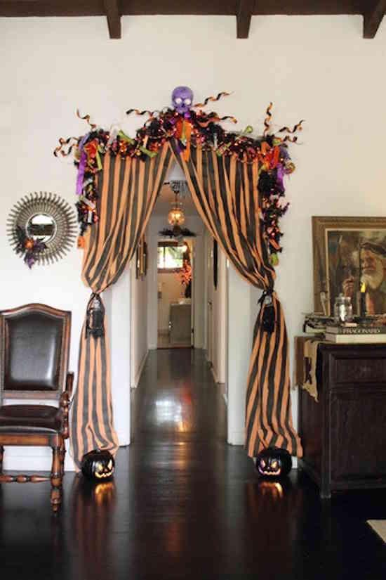 Incroyable Mettez Des Rideaux Halloween à La Maison