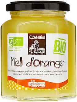 Miel d'oranger bio très bon