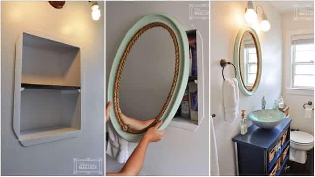 9 accessoires faits maison que vous aimeriez bien avoir dans votre salle de bains. Black Bedroom Furniture Sets. Home Design Ideas