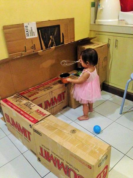 Comment Faire Une Mini Cuisine En Cartons Pour Votre Bambin