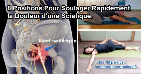 8 positions pour soulager la douleur d 39 une sciatique en moins de 15 min - Comment se passe une fausse couche precoce ...