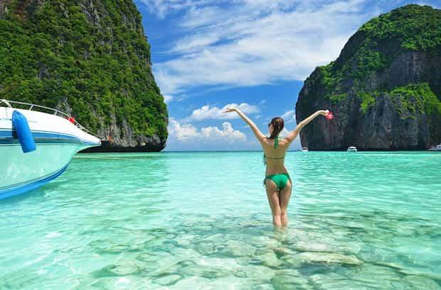 Profiter tranquillement de la plage en Thailande