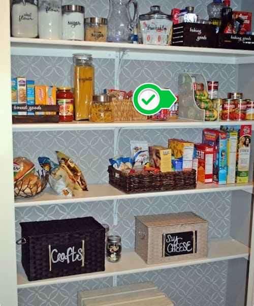 Ne jetez pas vos vieilles boîtes, elle peuvent être utilisées pour ranger les aliments.