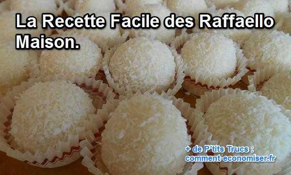 recette des Raffaello Maison