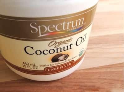 huile de coco bio baume à lèvres naturel