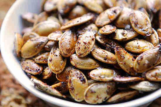 Est-ce que vous jetez vos graines de potiron ?