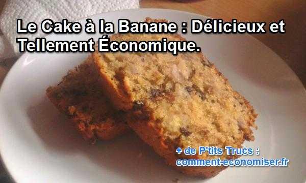 recette du cake à la banane