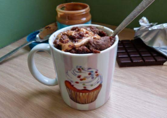 recette du mur cake au beurre de cacahuète, au chamallow et au chocolat