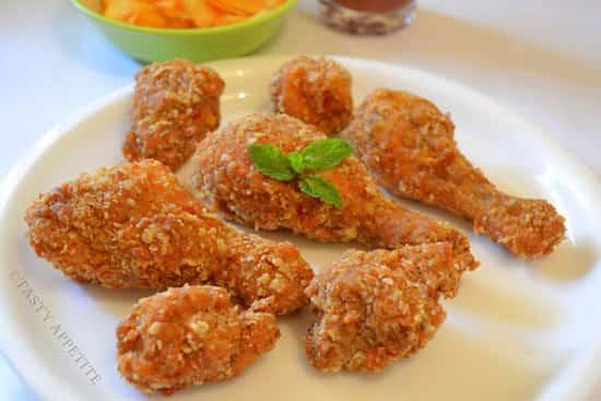 La recette du poulet KFC fait maison est très simple.