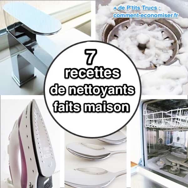 mes 7 meilleures recettes de nettoyants faits maison. Black Bedroom Furniture Sets. Home Design Ideas