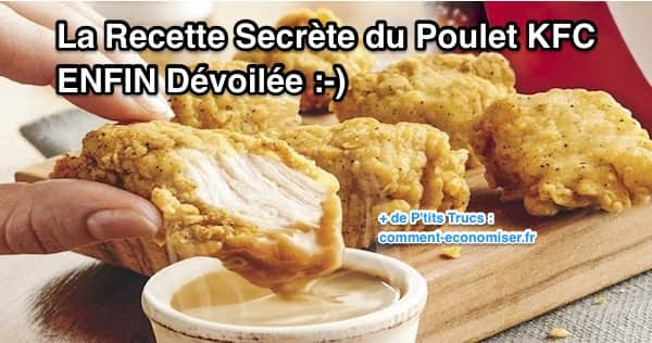 la recette secr te du poulet kfc enfin d voil e. Black Bedroom Furniture Sets. Home Design Ideas