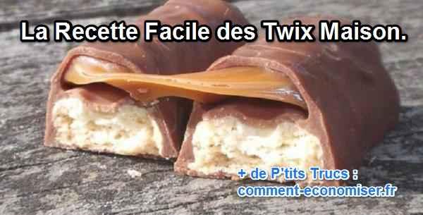 recette twic maison caramel chocolat