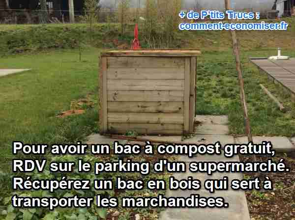comment r u00e9cup u00e9rer un bac  u00e0 compost gratuitement