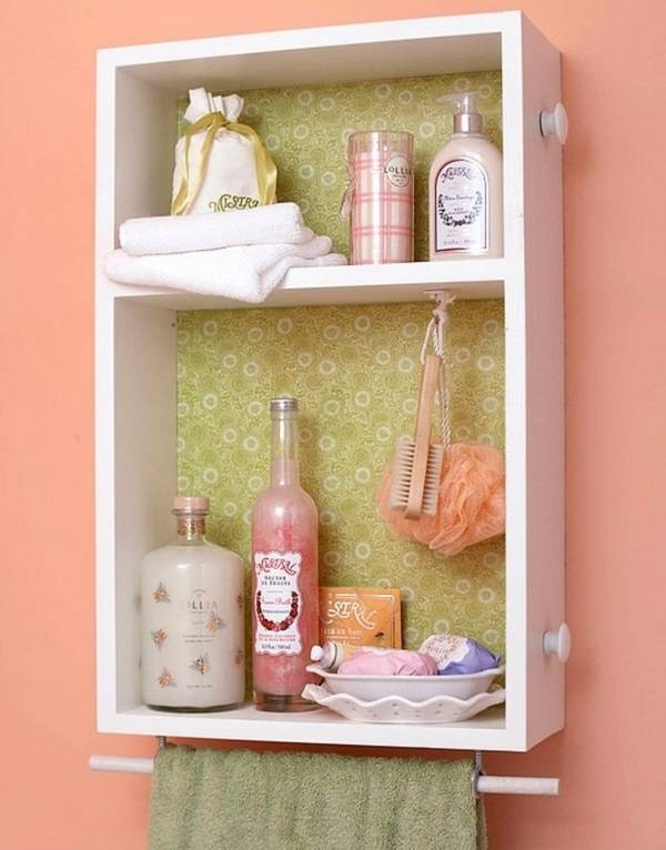 Recycler un vieux tiroir en étagères murales