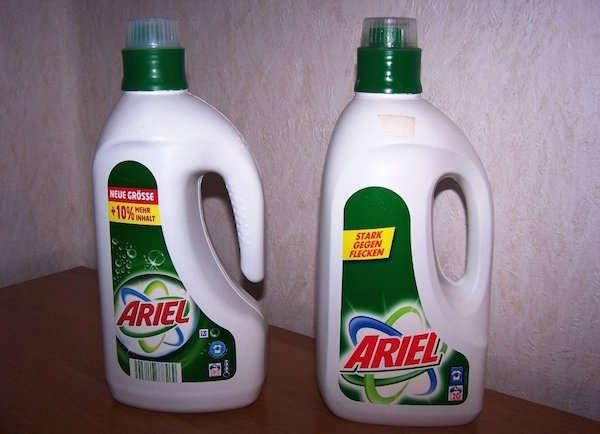 N'achetez plus de lessive en bouteille en plastique