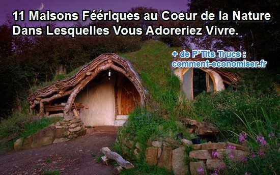 11 maisons magnifiques au coeur de la nature