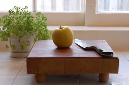 cómo desengrasar correctamente una tabla de cortar