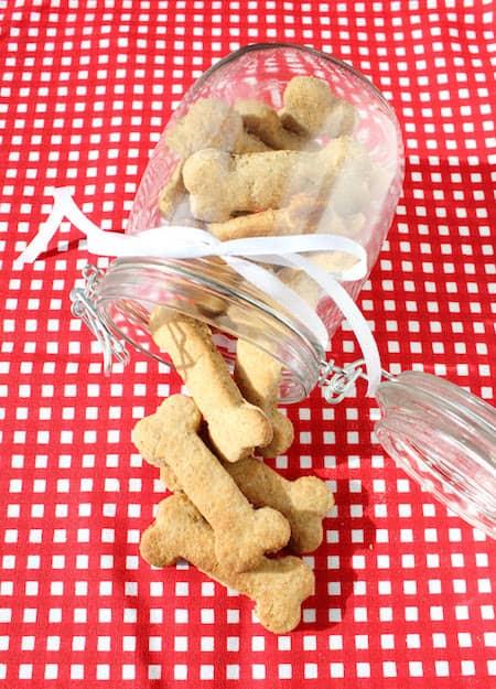 recette de biscuit pour chien au beurre de cacahuète