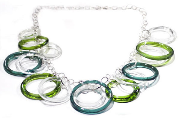 bouteille collier