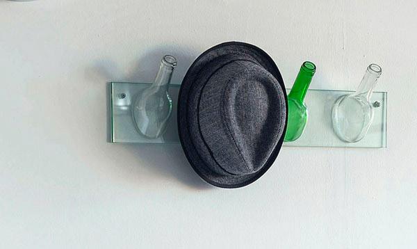 bouteilles porte-chapeaux