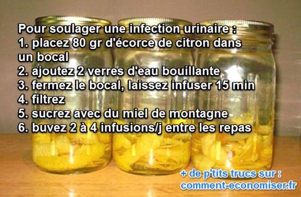 Le Remède Naturel Contre les Infections Urinaires.
