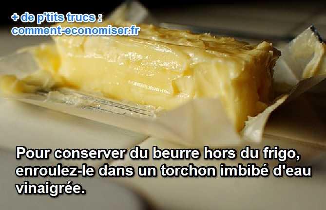 L 39 astuce de grand m re pour conserver le beurre sans frigo - Conservation aliments cuits hors frigo ...