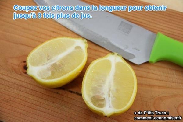 La bonne fa on de couper un citron pour obtenir un maximum - Comment couper des parties d une video ...