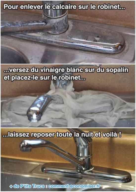 Sopalin autour d'un robinet