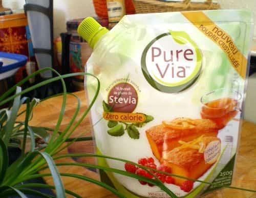 Utilisez de la stevia pour remplacer le sucre