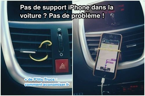 Support iphone pour voiture pas cher
