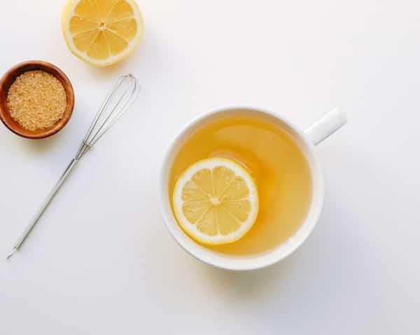 tisane citron pour les maux de gorge