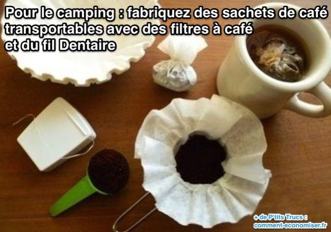 Comment faire du café en camping
