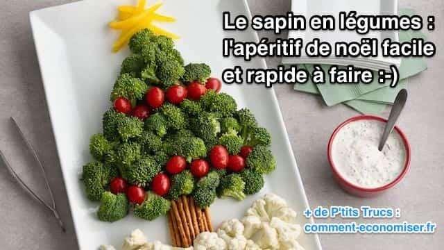 Très Le Sapin en Légumes : L'Apéritif de Noël Facile et Rapide à Faire. LL33
