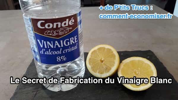 comment est fabriqué le vinaigre blanc
