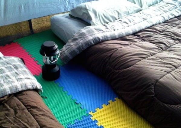 31 astuces de g nie pour le camping. Black Bedroom Furniture Sets. Home Design Ideas