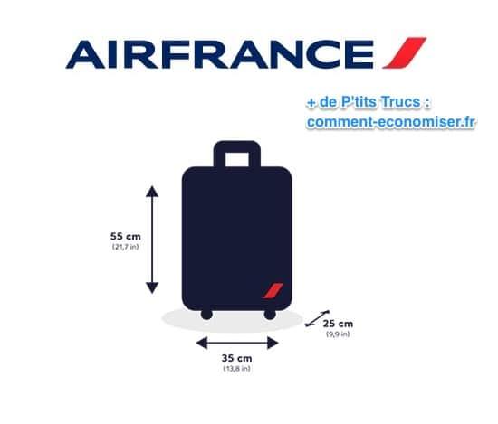nouvelle arrivee 33a68 10779 Bagage Cabine : Les Tailles à Respecter Pour Ne JAMAIS Payer ...