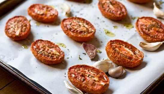 tomates rôties à la provençale