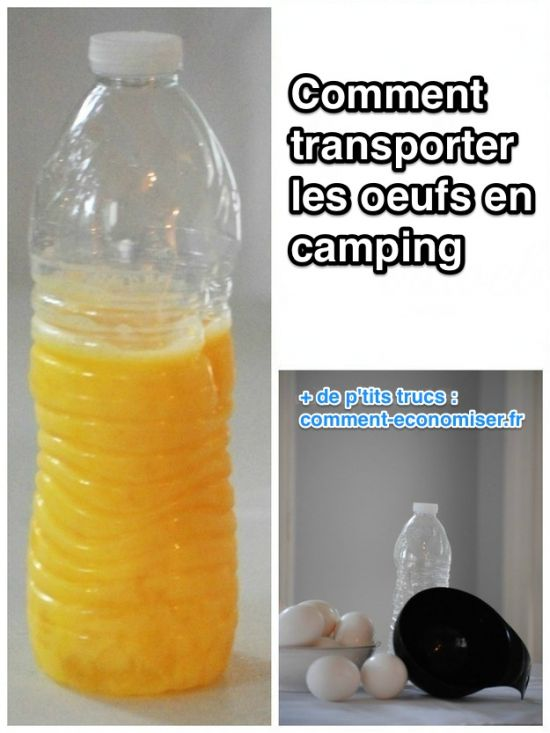 Transporter oeuf camping