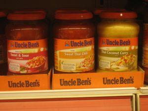 Uncle Ben's sauce