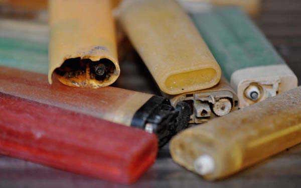 N'utilisez pas de briquets jetables qui polluent les océans