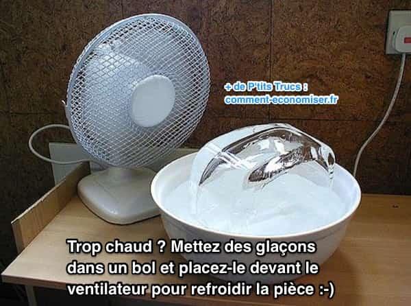 4 astuces simples et efficaces pour refroidir sa maison - Comment rafraichir une piece avec un ventilateur ...