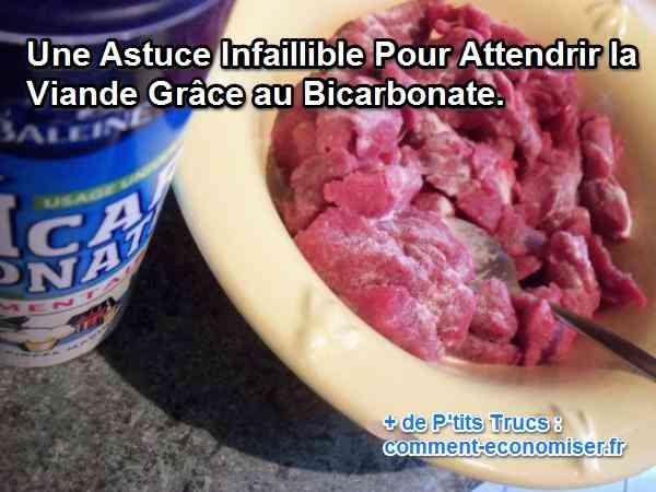 Une Astuce Infaillible Pour Attendrir la Viande Grâce au Bicarbonate.