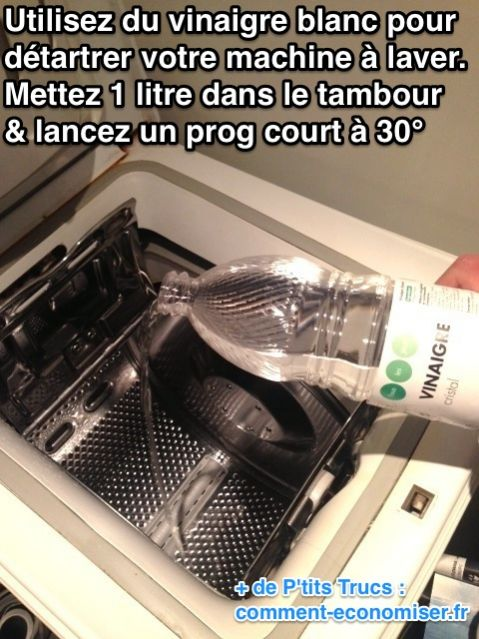 Nettoyer une machine a laver le linge comment nettoyer for Nettoyer une machine a laver le linge